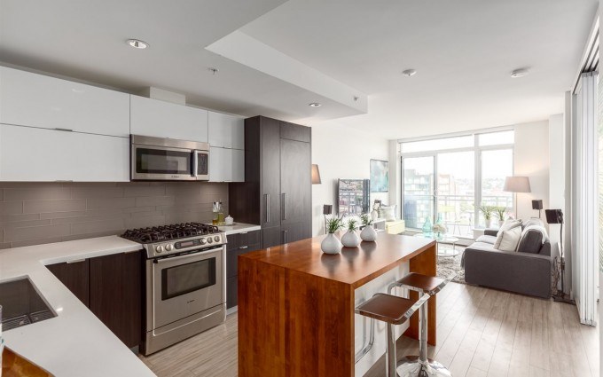1 Bedroom Apartment/Condo in Vancouver at 1205 1775 QUEBEC STREET